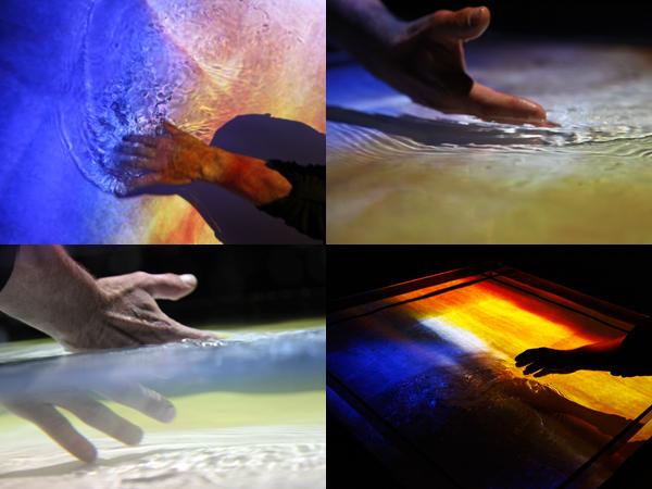 Marc Limousin, Irrigation, installation numérique et interactive